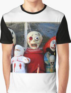Halloween Monsters Graphic T-Shirt