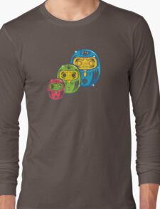 ZOMBIE MATRYOSHKA DARUMAS Long Sleeve T-Shirt