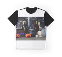 Halloween Witches Graphic T-Shirt