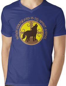 SIMON WOLFGUARD is my spirit animal Mens V-Neck T-Shirt