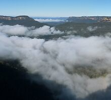 Blue Mtns panorama by PhotosByG