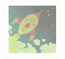 outta this world . 2 Art Print