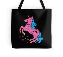 Cute unicorn in pink Tote Bag