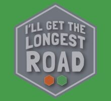 I'll get the LONGEST ROAD brick and forest Baby Tee