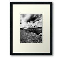 Shotgun Canyon Framed Print