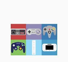 Nintendo Console Controllers Unisex T-Shirt