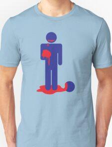 ZOMBIE man eating brains T-Shirt