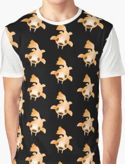 Orange Koi fish swimming Graphic T-Shirt