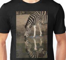 Zebra reflection Unisex T-Shirt