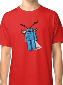 Robots Need Love Too Classic T-Shirt