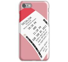 Fastpass Socialism iPhone Case/Skin
