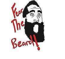 James Harden - Fear the Beard! #2 Photographic Print