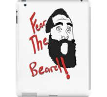 James Harden - Fear the Beard! #2 iPad Case/Skin