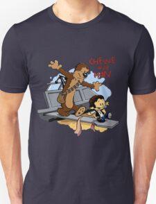 Calvin And Hobbes Parody Unisex T-Shirt