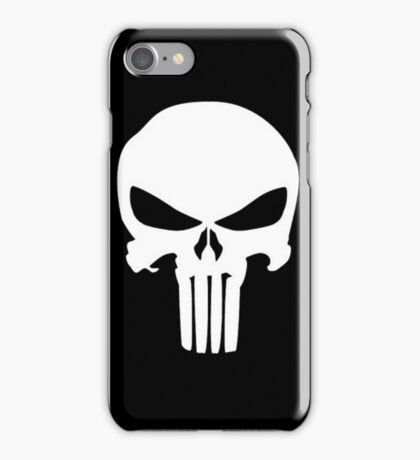 Punisher Skull iPhone Case/Skin