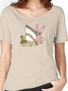 The Easter Shark Women's Relaxed Fit T-Shirt