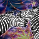 Zebra Love by blacknight