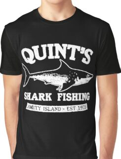 Quint's Shark Graphic T-Shirt