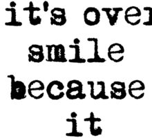 Dr.Seuss Quote 1 Sticker