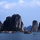 Halong Bay, Vietnam by Maggie Hegarty