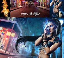 UNSEEN Before and After  by Adara Rosalie