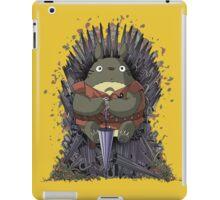 totoro of throne iPad Case/Skin