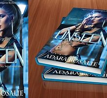 UNSEEN Premade Book Cover  by Adara Rosalie
