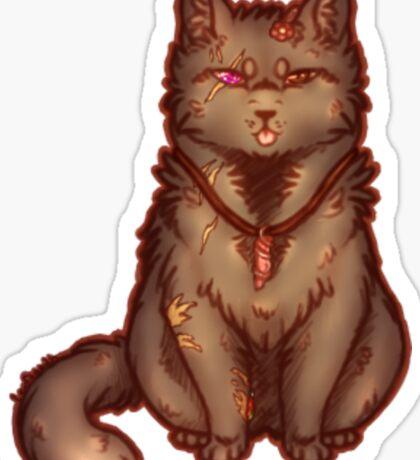 Kitty Vincent Sticker