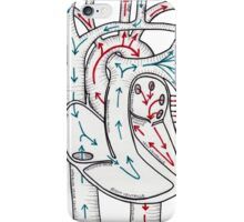 Bloodflow Chart iPhone Case/Skin