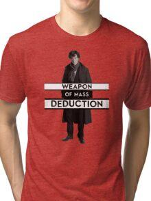 Sherlock - Weapon of Mass Deduction Tri-blend T-Shirt