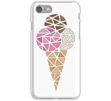 Neapolitan ice-cream iPhone Case/Skin