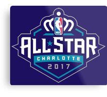 All Star 2017 NBA Metal Print