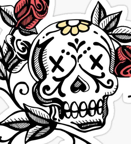 Deads day illustration Sticker
