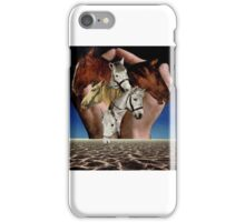 Taming Horses iPhone Case/Skin