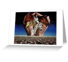 Taming Horses Greeting Card