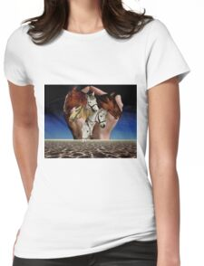 Taming Horses Womens Fitted T-Shirt
