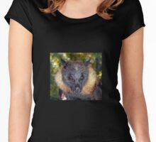 Walter - Grey-headed Flying-Fox Women's Fitted Scoop T-Shirt