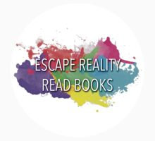Escape Reality, Read Books Kids Tee