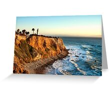 Point Vicente Lighthouse in Palos Verdes  Greeting Card