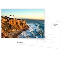 Point Vicente Lighthouse in Palos Verdes  Postcards