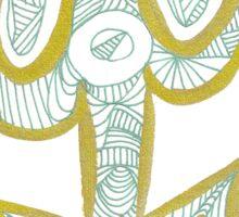 Key to the Scissors Sticker