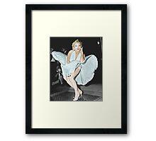 Marilyn Monroe in Colour Framed Print