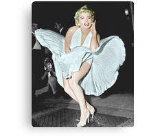 Marilyn Monroe in Colour Canvas Print
