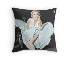 Marilyn Monroe in Colour Throw Pillow