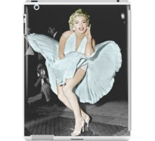 Marilyn Monroe in Colour iPad Case/Skin