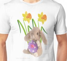 Rabbit with Easter egg Unisex T-Shirt