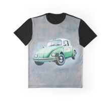 Retro beetle taxi Graphic T-Shirt