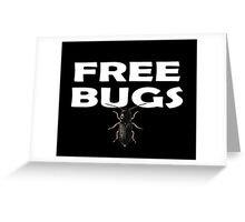 Free Hugs - Bugs T-Shirt Sticker Greeting Card