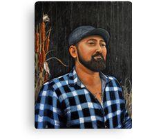 Sardonic Smile Canvas Print