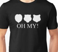 Lions, Tigers and Bears! Oh My! Unisex T-Shirt